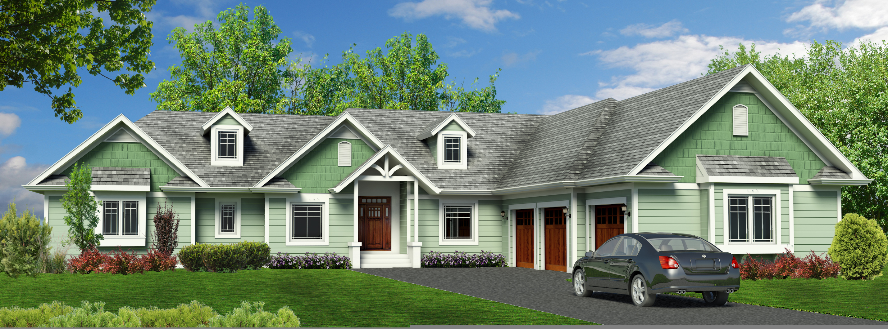 Craftsman Rendering
