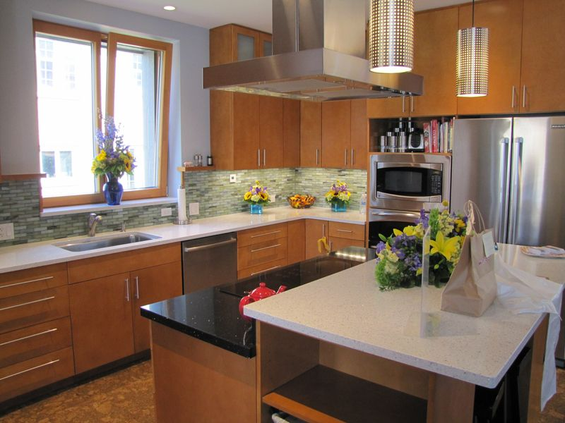 Picture of the Kitchen inside the Certified Passive House