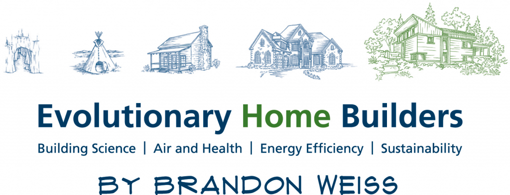 Evolutionary Home Builders (By Brandon Weiss) Logo, size large